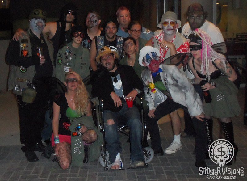 Zombie Army at Midwest Haunters Convention 2012
